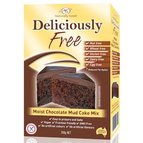 Naturally Good Chocolate Mud Cake Mix - 450g - GF Pantry