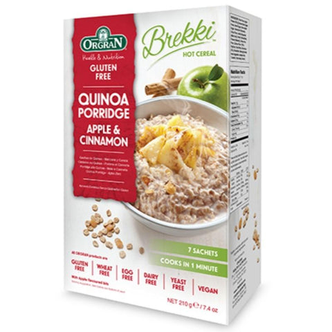 Orgran Quinoa Porridge Apple & Cinnamon - 210g - GF Pantry