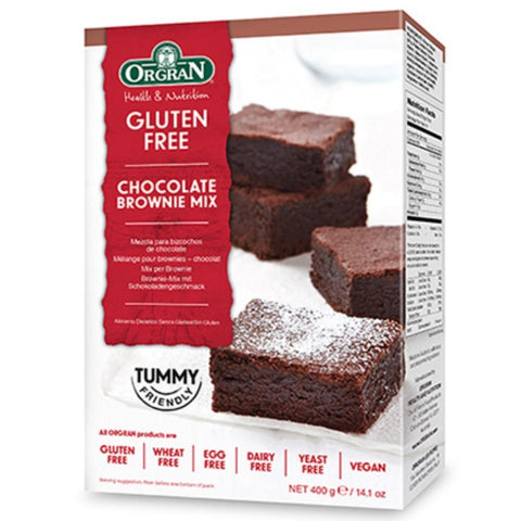 Orgran Chocolate Brownie Mix - 400g - GF Pantry