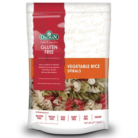 Orgran Vegetable & Rice Spirals - 250g - GF Pantry