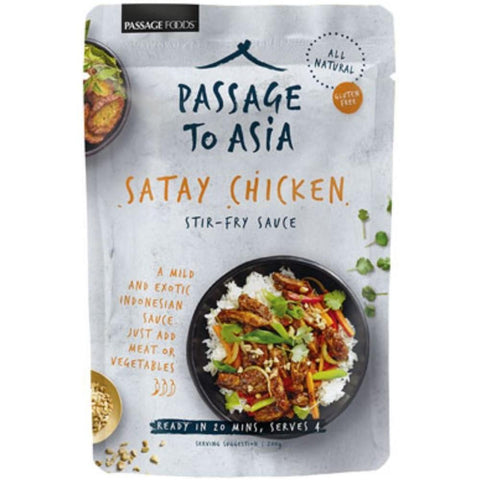 Passage Foods Satay Chicken - 200g - GF Pantry