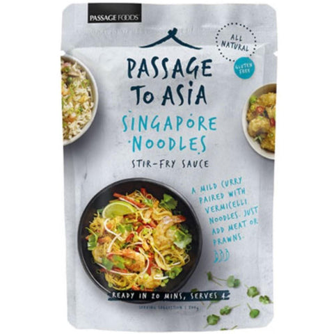 Passage Foods Singapore Noodles - 200g - GF Pantry