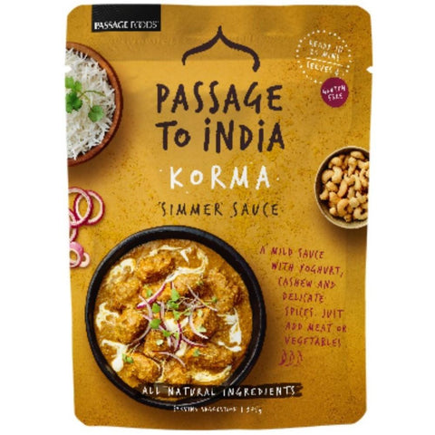 Passage Foods Korma - 375g - GF Pantry