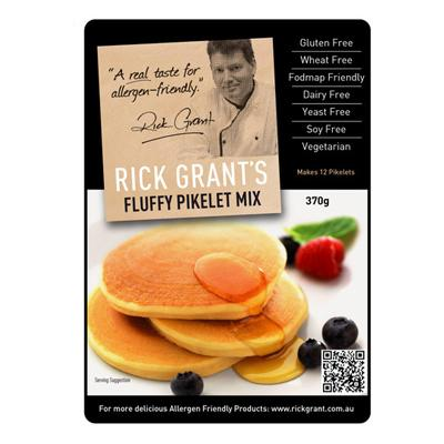 Rick Grants Fluffy Pikelet Mix - 370g - GF Pantry