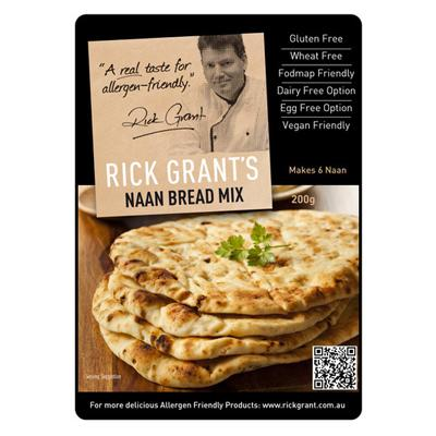 Rick Grants Naan Bread Mix - 200g - GF Pantry
