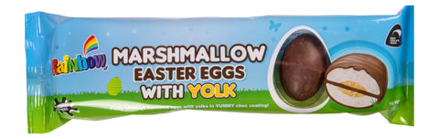 Rainbow Confectionery Marshmallow Easter Eggs with Yolk - 120g