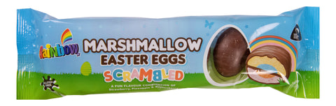 Rainbow Confectionery Scrambled Marshmallow Easter Eggs - 120g