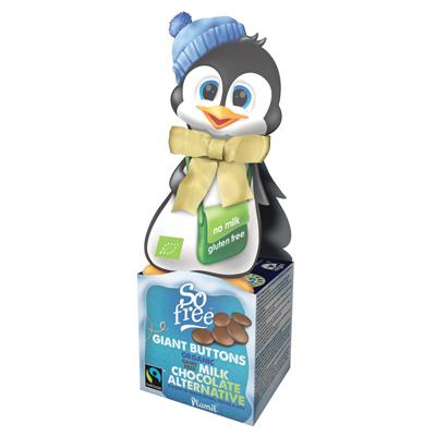 So Free Penguin Box Chocolate Buttons - 65g - GF Pantry
