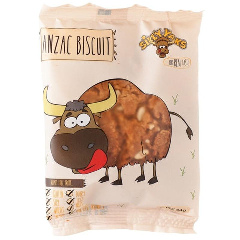 Silly Yaks Anzac Biscuit - 34g - GF Pantry