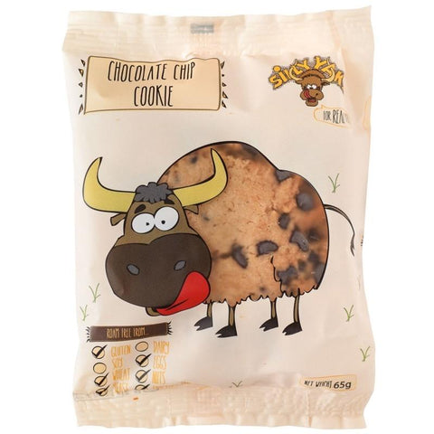 Silly Yaks Choc Chip Cookie - 65g - GF Pantry