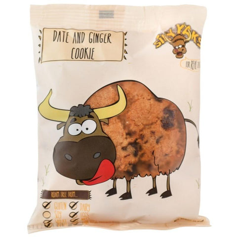 Silly Yaks Date & Ginger Cookie - 65g - GF Pantry