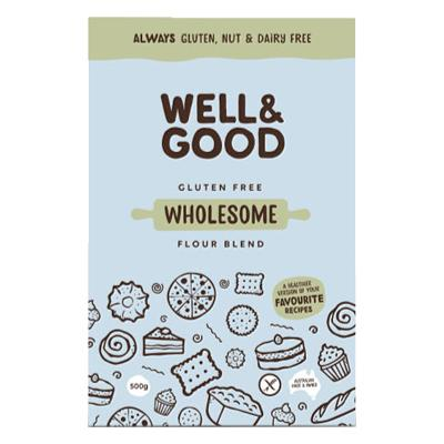 Well & Good Wholesome Flour Blend - 400g - GF Pantry