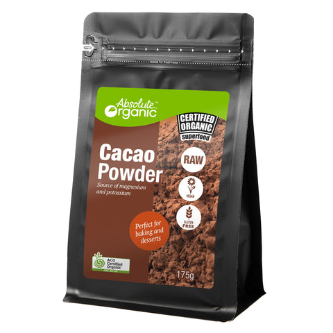 Absolute Organic Cacao Powder - 175g