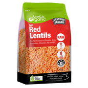 Absolute Organic Split Red Lentils - 400g