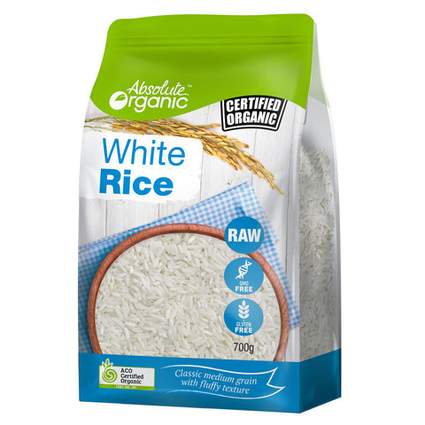 Absolute Organic White Rice 700g