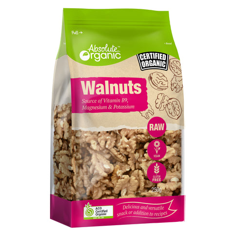 Absolute Organic Walnuts - 250g