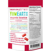 Yum Earth Organic Pomegranate Licorice - 142g