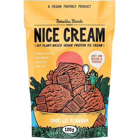 Botanika Blends Nice Cream Choc Lit Flavour DIY Ice Cream - 120g