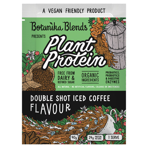 Botanika Blends Plant Protein Iced Coffee - 40g