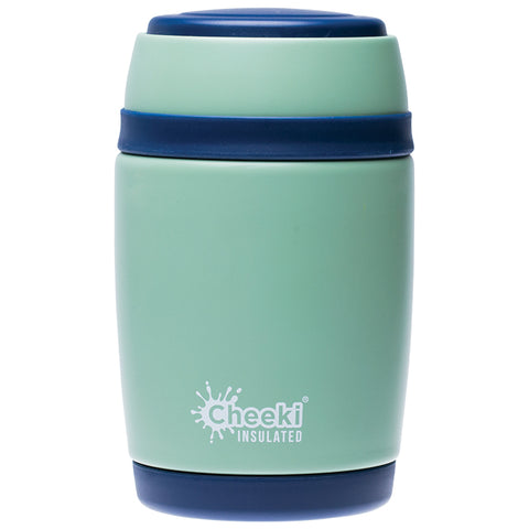 Cheeki Insulated Food Jar 480ml Pistachio