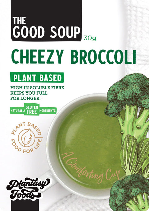 The Good Soup Cheezy Broccoli 30g