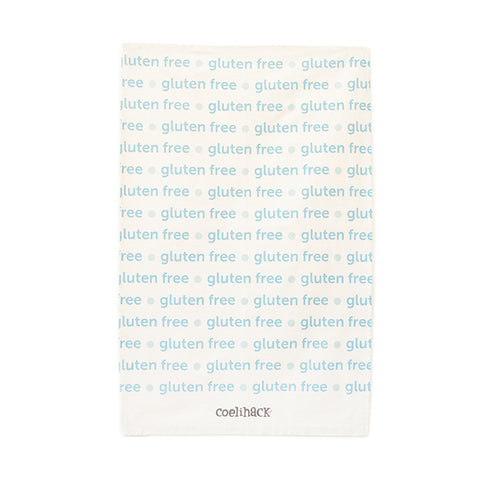 Coelihack Gluten Free Text Tea Towel