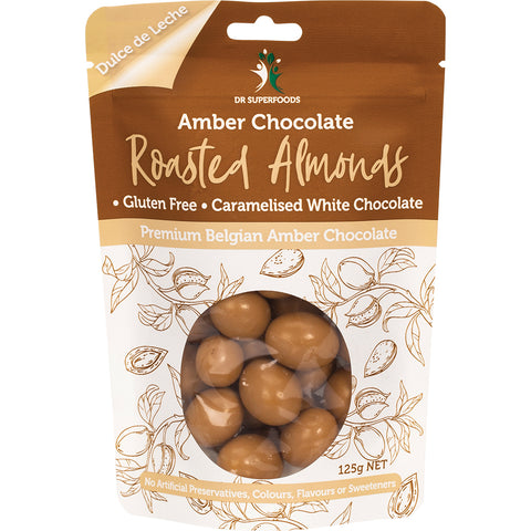 Dr Superfoods Amber Chocolate Roasted Almonds - 125g