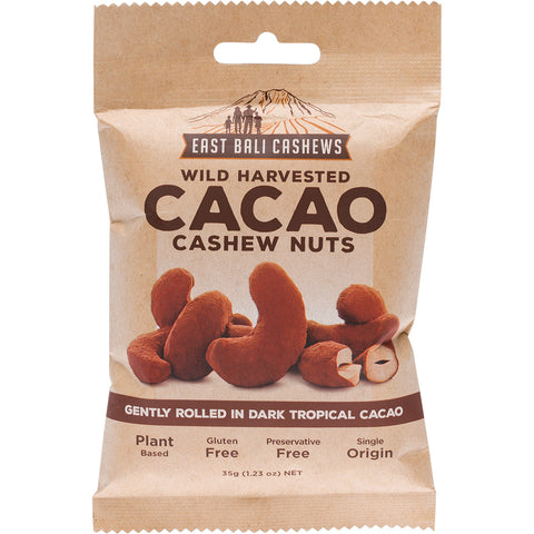 East Bali Cashews - Cacao Cashew Nuts - 35g