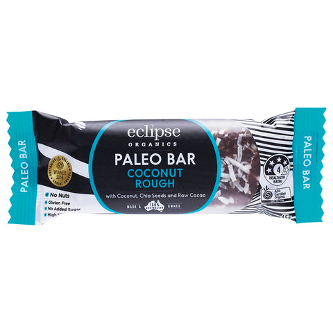 Eclipse Organics Coconut Rough Paleo Bar 45g