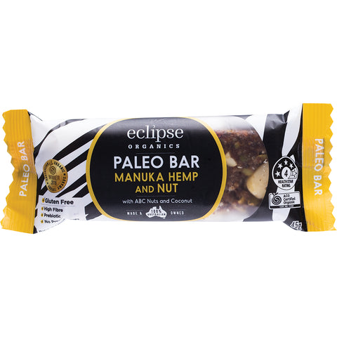 Eclipse Organics Manuka Hemp & Nut Bar 45g