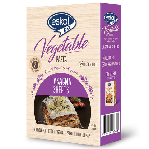 Eskal Vegetable Pasta Lasagna Sheets 255g