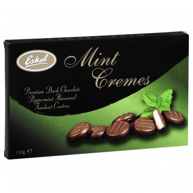 Eskal Chocolate Cremes - Mint - 150g
