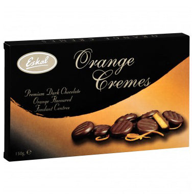 Eskal Chocolate Cremes - Orange - 150g