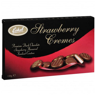 Eskal Chocolate Cremes - Strawberry - 150g