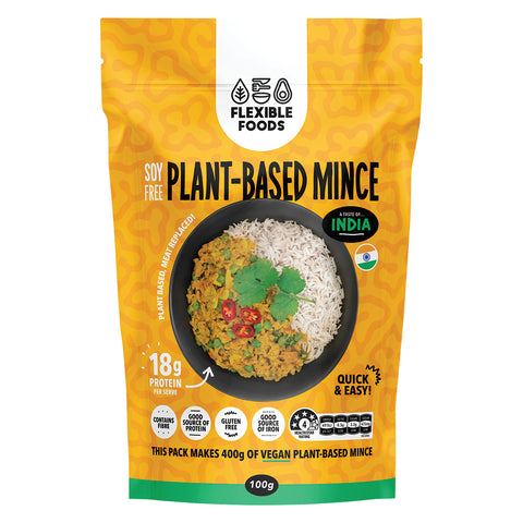 Flexible Foods Indian Spiced Plant Based Mince - 100g