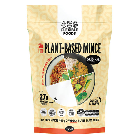 Flexible Foods Original Plant Based Mince - 100g