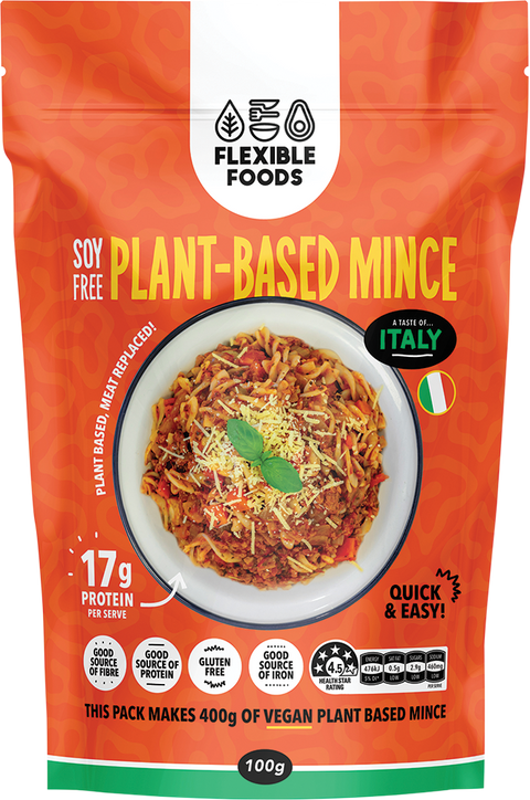 Flexible Foods Plant Based Italian Mince - 100g
