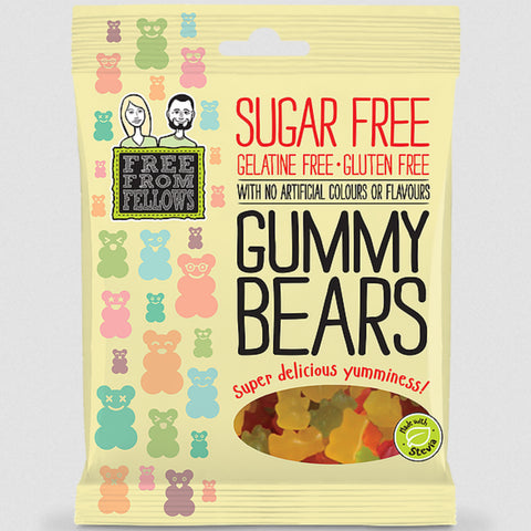 Free From Fellows Sugar Free Gummy Bears - 100g