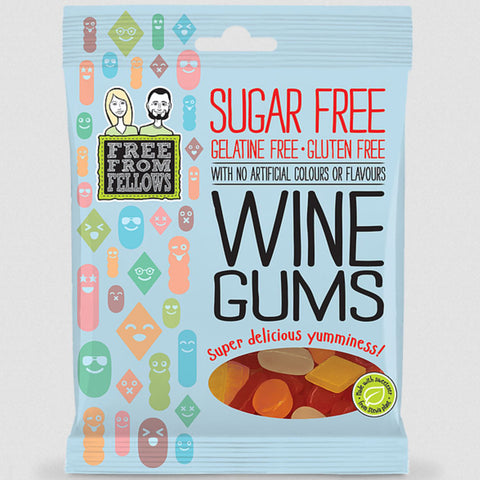Free From Fellows Wine Gums - 100g