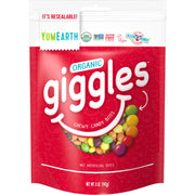 Yum Earth Organic Candy Giggles - 142g