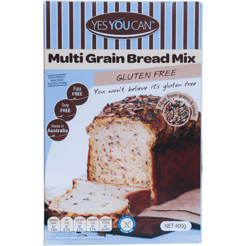 Yes You Can Multi Grain Bread Mix - 400g