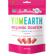 Yum Earth Organic Strawberry Licorice - 142g