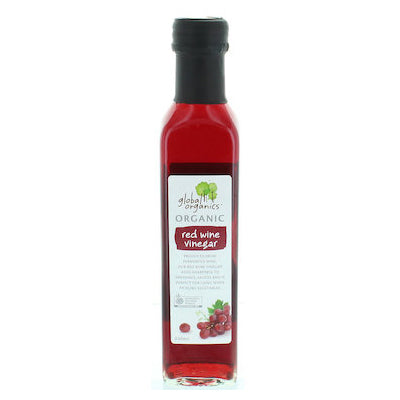 Global Organics Red Wine Vinegar - 250ml