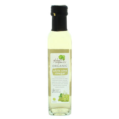 Global Organics White Wine Vinegar - 250ml