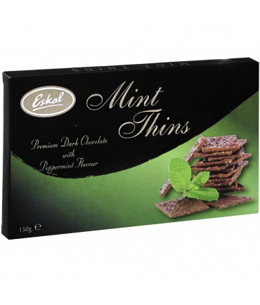 Eskal Chocolate Mint Thins - 150g