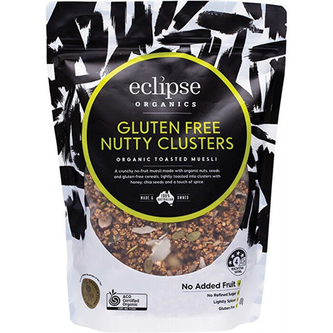 Eclipse Organics Nutty Clusters Toasted Muesli 400g