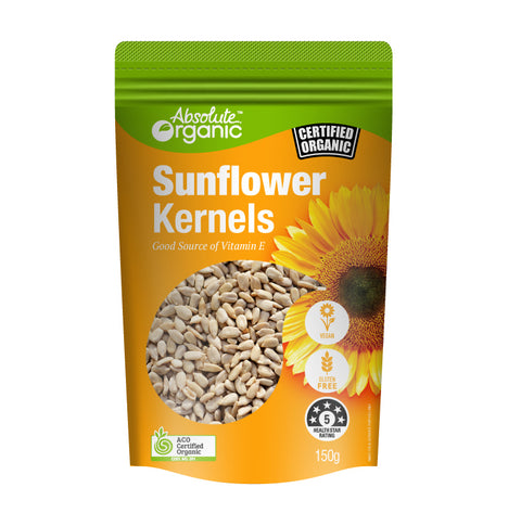 Absolute Organic Sunflower Kernels - 150g