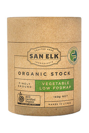 San Elk Organic Low FODMAP Vegetable Stock - 160g