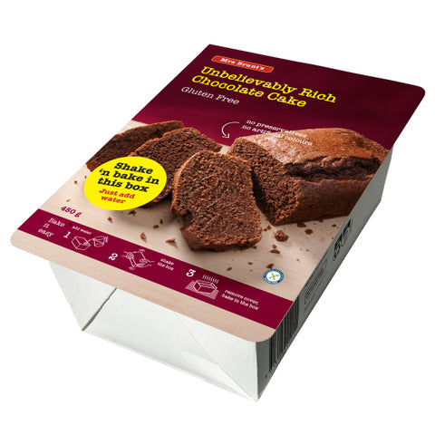 Mrs Brunt Rich Chocolate Cake - 450g