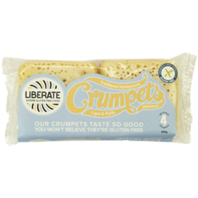 Liberate Crumpets - 240g (not currently available in NZ) **Temporarily Unavailable**